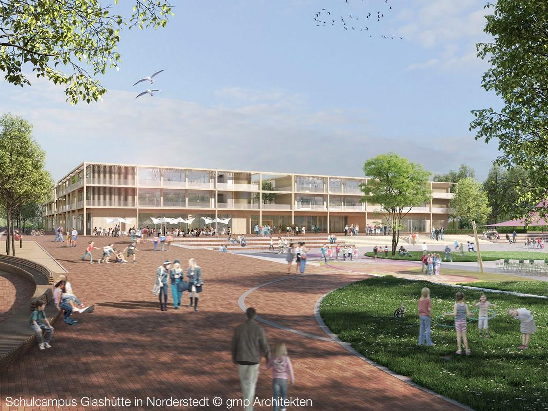Neubau des Campus Glasshütte mit BIM